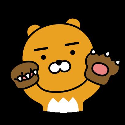 Hello Kakao Friends messages sticker-0