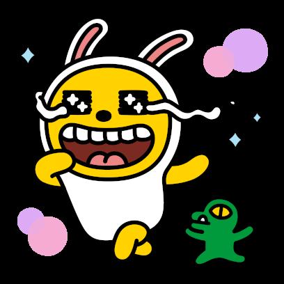 Hello Kakao Friends messages sticker-9