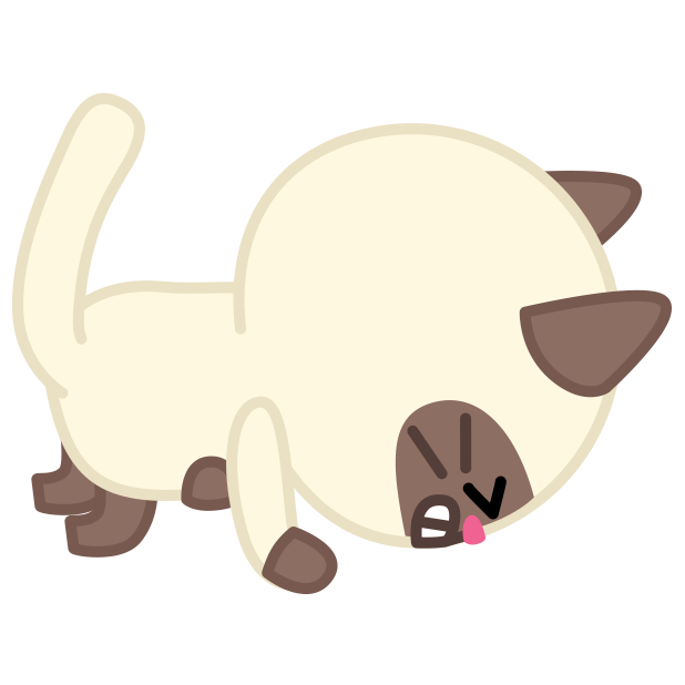 Cute baby cat ver.joy messages sticker-3