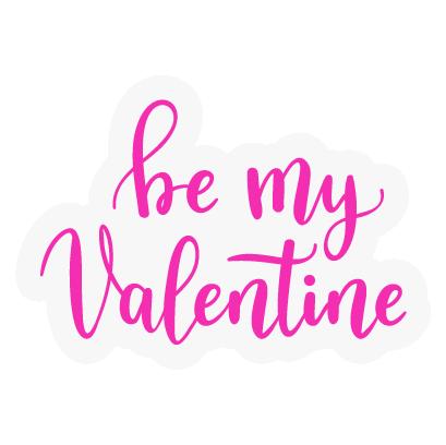 Valentines Day Stickers Pack messages sticker-8