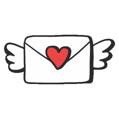 Valentines Day Stickers Pack messages sticker-9