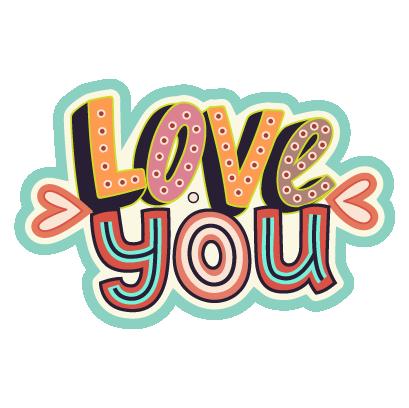 Valentines Day Stickers Pack messages sticker-4