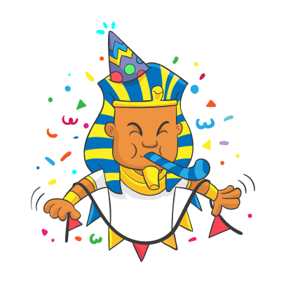 King of Egypt 2 messages sticker-5