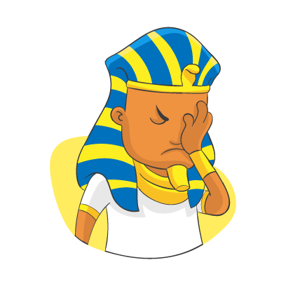 King of Egypt 2 messages sticker-8