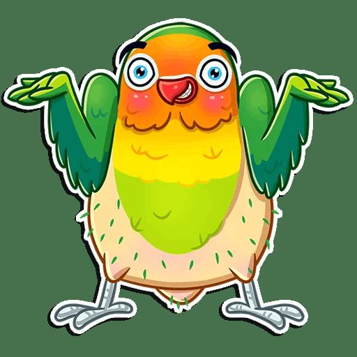 Love Birds Life Stickers messages sticker-7