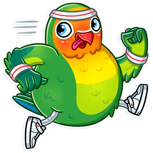 Love Birds Life Stickers messages sticker-10