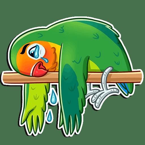 Love Birds Life Stickers messages sticker-5