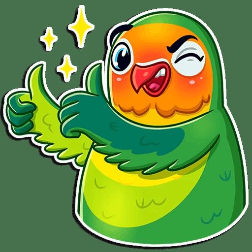 Love Birds Life Stickers messages sticker-2