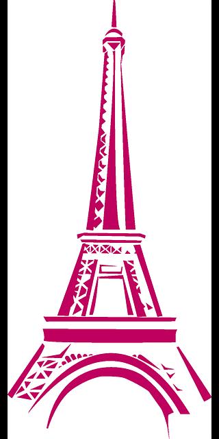 Eiffel Tower Paris messages sticker-8