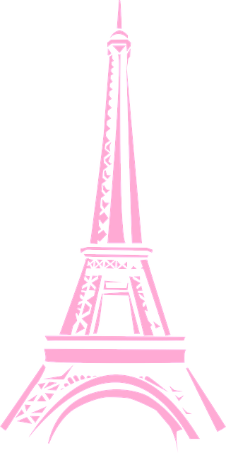 Eiffel Tower Paris messages sticker-9