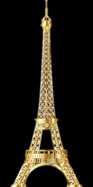 Eiffel Tower Paris messages sticker-11