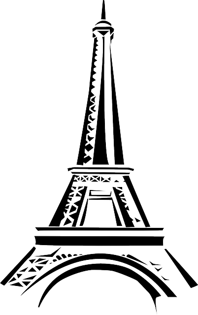 Eiffel Tower Paris messages sticker-4