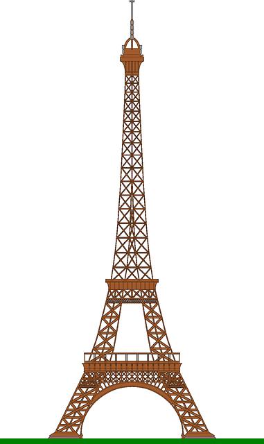 Eiffel Tower Paris messages sticker-10