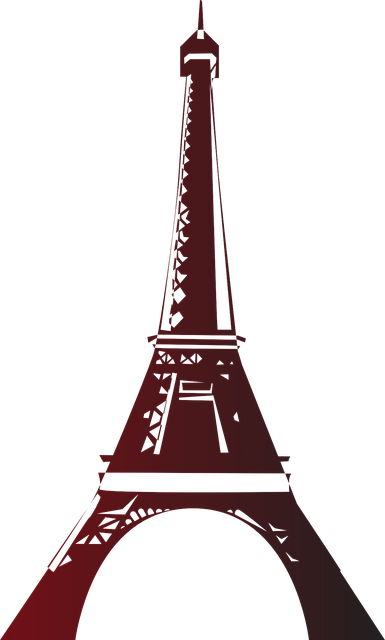Eiffel Tower Paris messages sticker-3