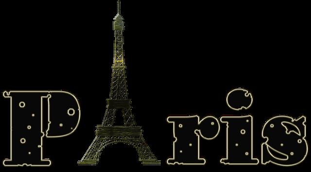 Eiffel Tower Paris messages sticker-1