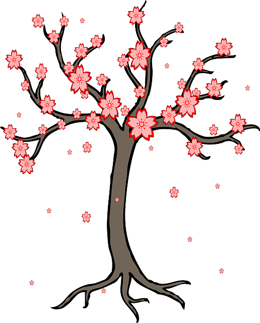 Spring Cherry Blossoms messages sticker-0