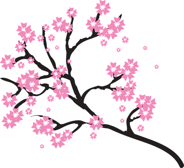 Spring Cherry Blossoms messages sticker-5