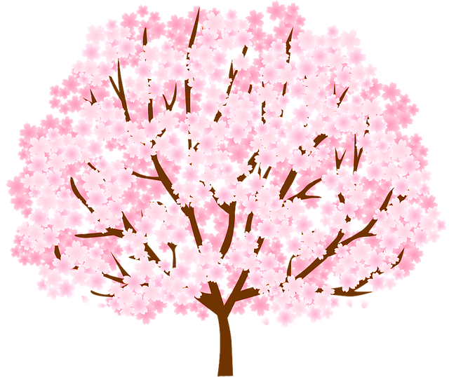 Spring Cherry Blossoms messages sticker-1