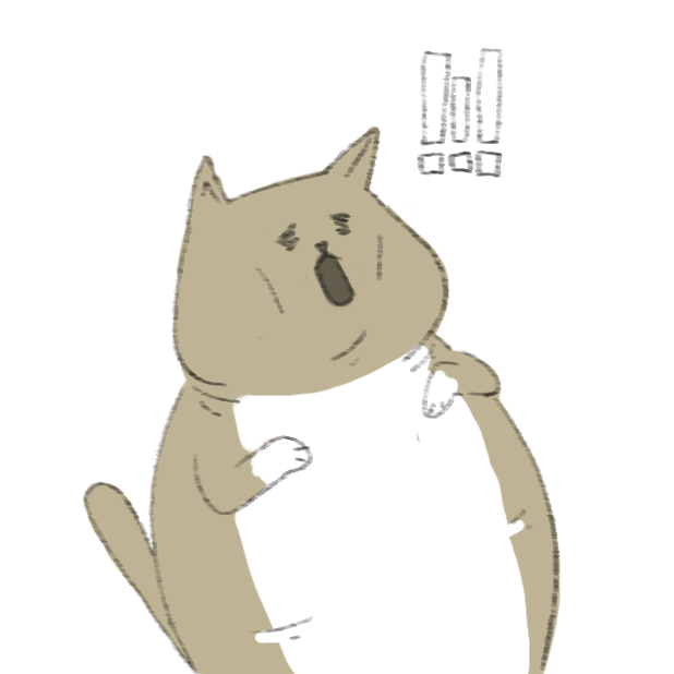 Lazy Fat Cat messages sticker-4