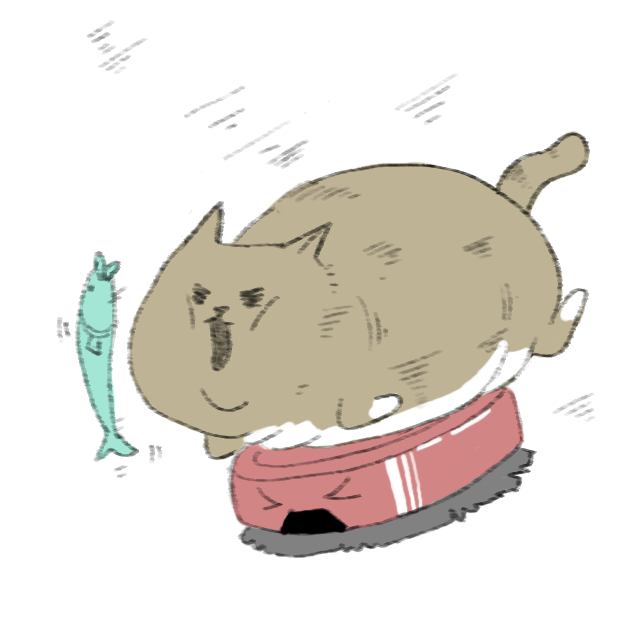 Lazy Fat Cat messages sticker-1