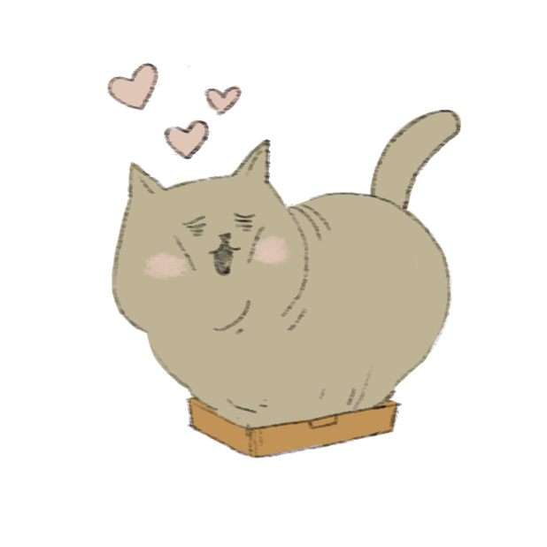 Lazy Fat Cat messages sticker-5