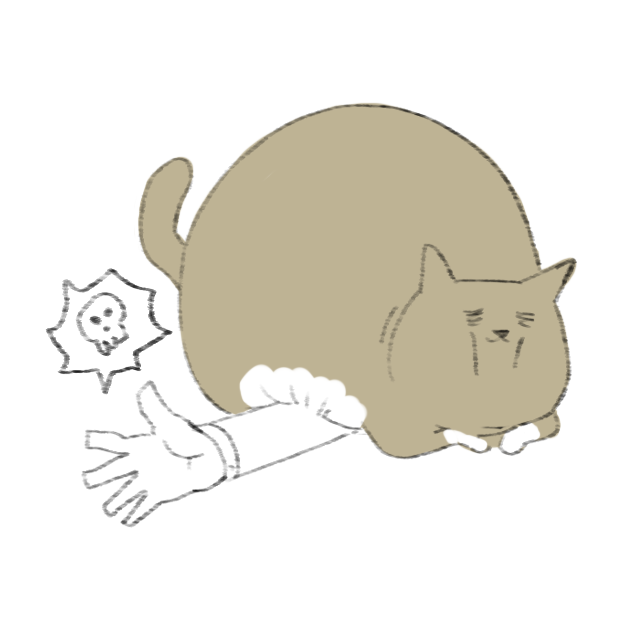 Lazy Fat Cat messages sticker-11