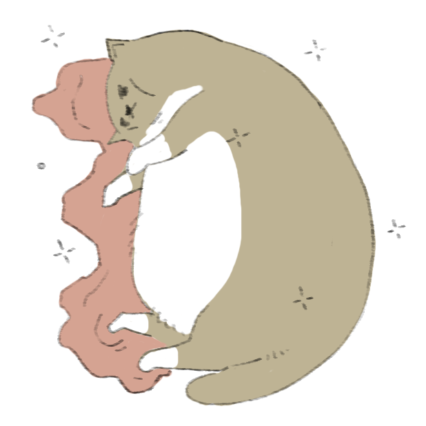 Lazy Fat Cat messages sticker-9