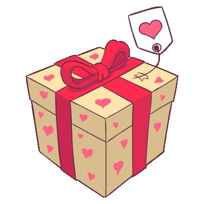 Adorable Valentines Stickers messages sticker-8
