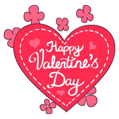 Adorable Valentines Stickers messages sticker-0