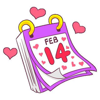 Adorable Valentines Stickers messages sticker-4