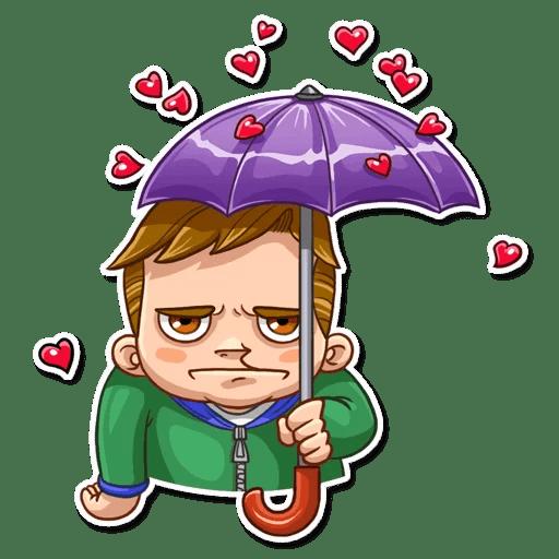 Valentine Day Fool Stickers messages sticker-6