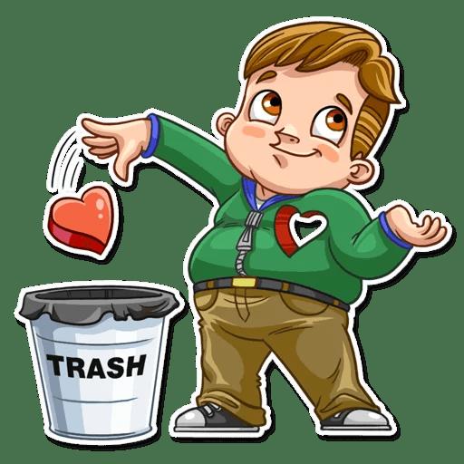 Valentine Day Fool Stickers messages sticker-8