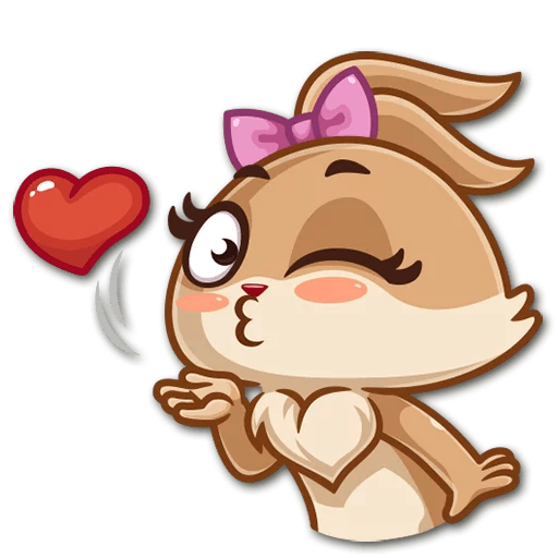 Banny Love Sticker Pack messages sticker-2
