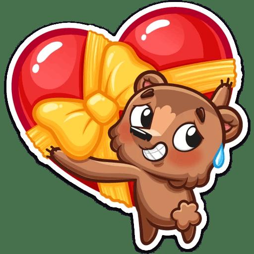 Brownie Love Stickers messages sticker-8