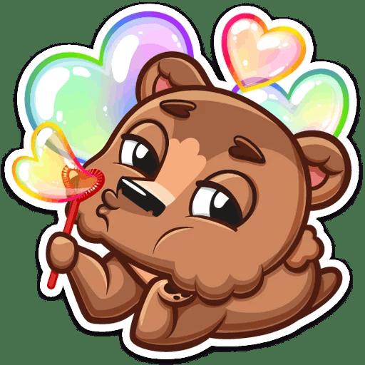 Brownie Love Stickers messages sticker-3