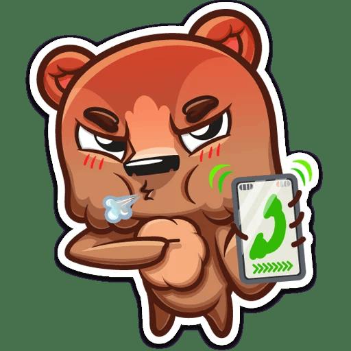 Brownie Love Stickers messages sticker-9