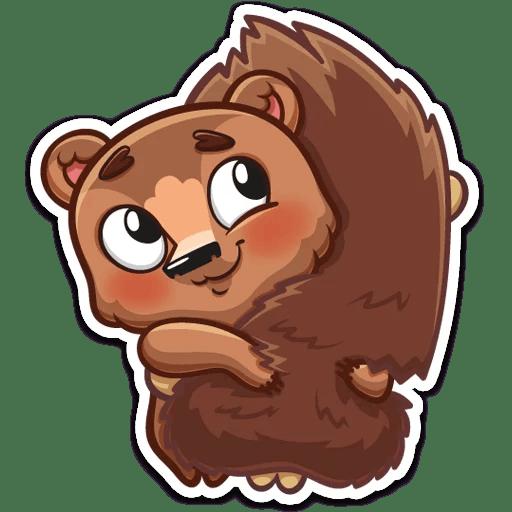 Brownie Love Stickers messages sticker-1
