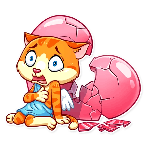 Cupid Cat Love Stickers messages sticker-9