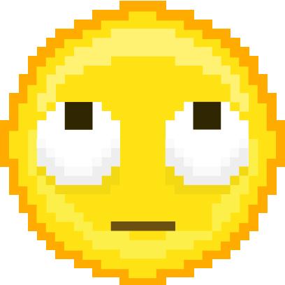 Pixel Art Emoji messages sticker-0