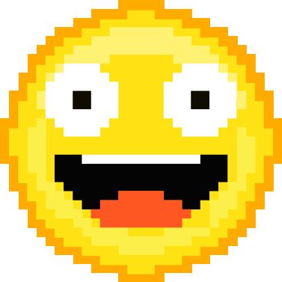 Pixel Art Emoji messages sticker-11