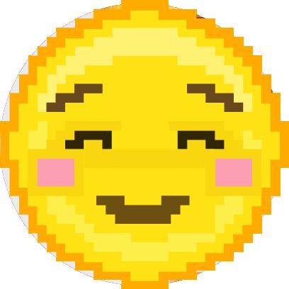 Pixel Art Emoji messages sticker-4