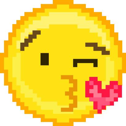 Pixel Art Emoji messages sticker-3