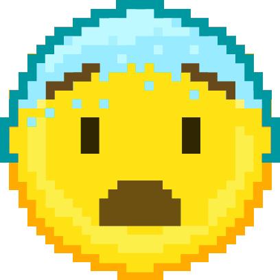 Pixel Art Emoji messages sticker-8