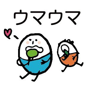 ほのぼのマンマルちゃん(敬語あり) messages sticker-6