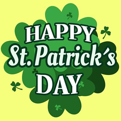 St Patricks Day Stickers messages sticker-0