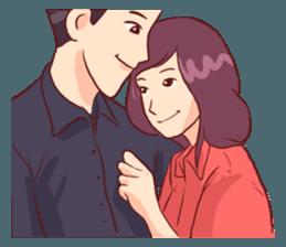 Romance Love Stickers messages sticker-0