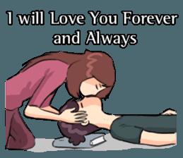 Romance Love Stickers messages sticker-10