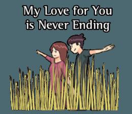 Romance Love Stickers messages sticker-5
