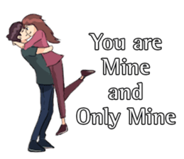 Romance Love Stickers messages sticker-11
