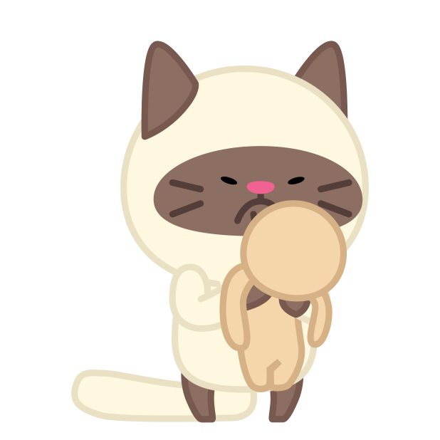 Cute baby cat ver.anger messages sticker-9